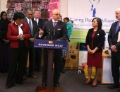 February 4, 2016: Senator Hughes and Haywood Hold a Press Conference on Education.February 4, 2016: West Philadelphia Community Center - Schools That Teach Tour