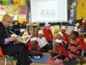 .Senator Hughes visits The Gompers School  :: March 2012