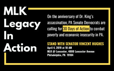 Senate Democrats to Launch Poverty and Economic Security Call to Action Honoring Legacy of the Rev. Dr. Martin Luther King Jr.