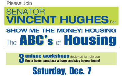 You are invited to attend our upcoming FREE financial/homeownership workshops on December 7!