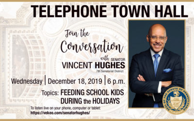 Join Senator Hughes for a conversation on fighting hunger among schoolchildren over the holiday break