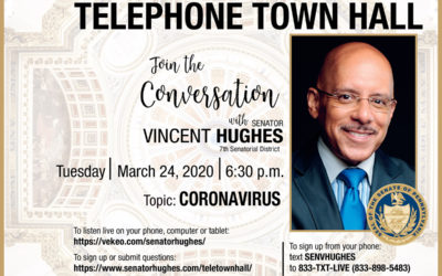 Doctors join Sen. Hughes for telephone town hall on coronavirus outbreak