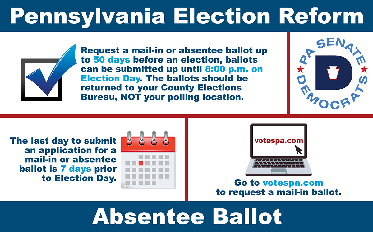 PA Election Reform - Absentee Ballot