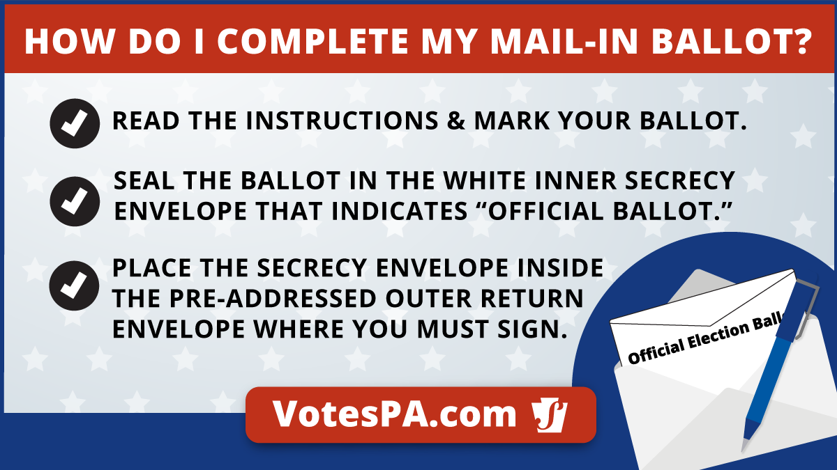 Return your mail-in ballot