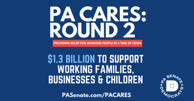 PA Senate Democrats Unveil Plan to Spend $1.3 Billion in Remaining Cares Funds