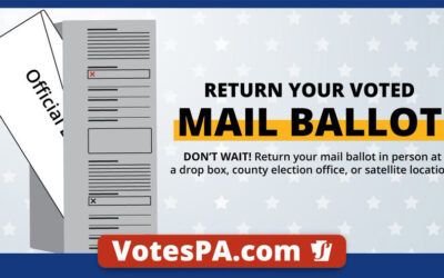 Don't wait, return your ballot today!